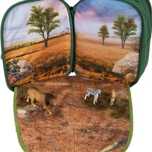 Mojo 3D Backpack Fold Out Jungle Playscene NEW